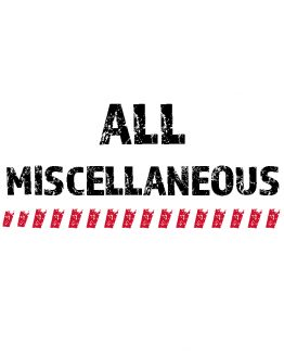 All Miscellaneous